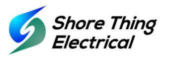 Shore Thing Electrical Logo